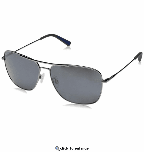 Revo Men's Harbor Navigator Sunglasses Graphite Lens with Gunmetal Frame