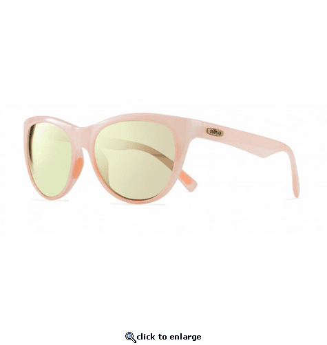 Revo Women's Barclay Cat Eye Sunglasses Champagne Lens with Blush Frame