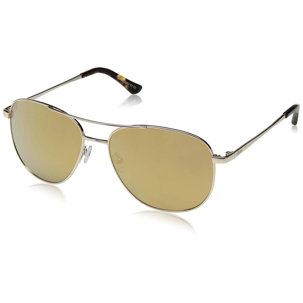 5414de3308 Revo Women s Maxie Navigator Sunglasses Champagne Lens with Gold Frame -  The Warming Store