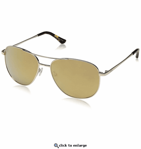 Revo Women's Maxie Navigator Sunglasses Champagne Lens with Gold Frame
