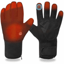 Savior Heat Unisex Electric Rechargeable Battery Heated Warm Thermal Snow Gloves