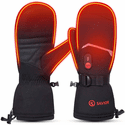 Savior Heat Unisex Rechargeable Battery Thermal Electric Heated Mittens