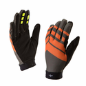 SealSkinz Dragon Eye MTB Ultralite Gloves - Dark Olive/Mud/Methyl Orange