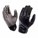 SealSkinz Dragon Eye Trail Gloves - Black/Anthracite/Grey
