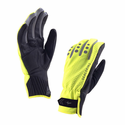 SealSkinz Men's All Weather Cycle Gloves - High Vis Yellow/Black