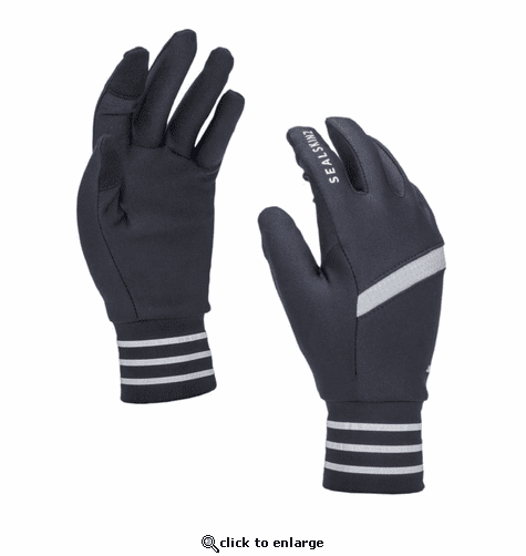SealSkinz Men's Solo Stretch Reflective Gloves
