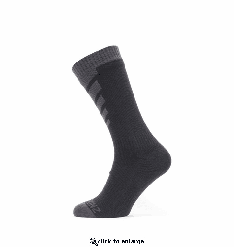 SealSkinz Men's Waterproof Warm Weather Mid Length Socks
