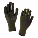 SealSkinz Ultra Grip Touch Screen Gloves - Olive