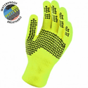 SealSkinz Ultra Grip Waterproof Gloves - Hi-Vis Yellow