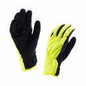 SealSkinz Women's All Weather Cycle Gloves - Black/Hi Vis Yellow