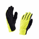 SealSkinz Women's Brecon Gloves - Black/Hi Vis Yellow