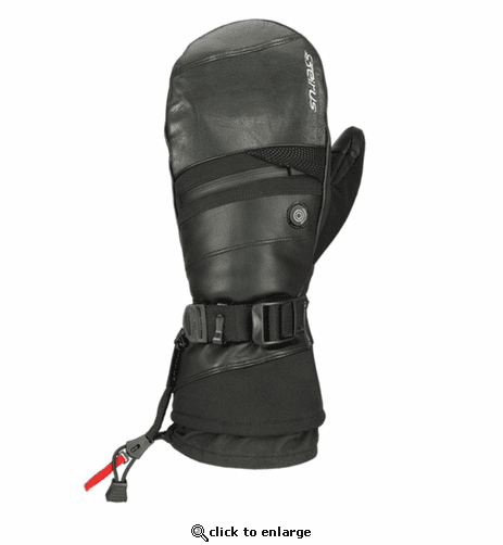 Seirus Heat Touch Hellfire Battery Heated Mittens for Men