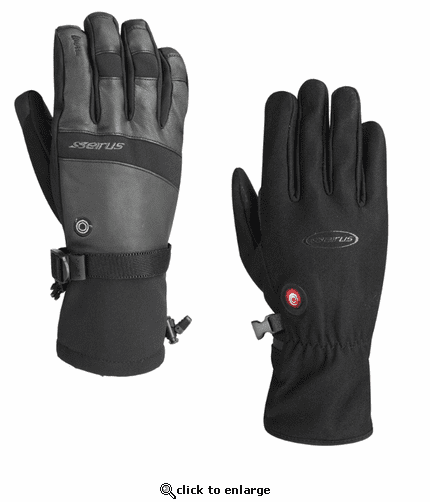 Seirus HeatTouch Torche Component System Heated Glove Liner & Shell Set