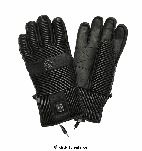 Ski Signature Battery Heated Solar Gloves