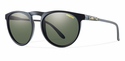 Smith Archive Marvine Sunglasses Matte Black Carbonic Polarized Gray Green