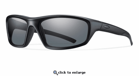 Smith Elite Director Elite Sunglasses Black Carbonic Elite Ballistic Polarized Gray