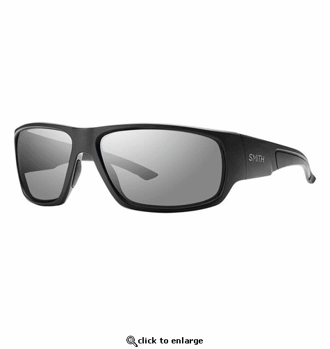 Smith Elite Discord Elite Sunglasses Black Carbonic Elite Ballistic Gray