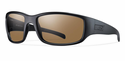 Smith Elite Prospect Elite Sunglasses Black Carbonic Elite Ballistic Polarized Brown