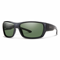 Smith Forge Sunglasses Black Carbonic Polarized Gray Green