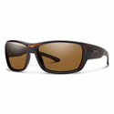 Smith Forge Sunglasses Matte Tortoise Carbonic Polarized Brown