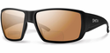 Smith Guides Choice Bifocal Sunglasses Matte Black Carbonic Polarized Copper Mirror 2.50