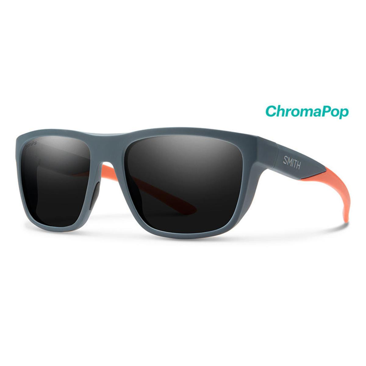 f0ebf1ec78c8 Smith Optics Barra Sunglasses Chromapop Polarized Black - Matte Thunder  Orange Frame - The Warming Store