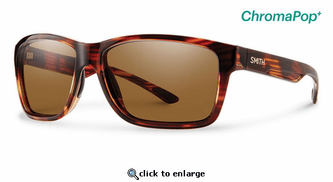 Smith Optics Lifestyle Drake Sunglasses Tortoise Chromapop+ Polarized Brown