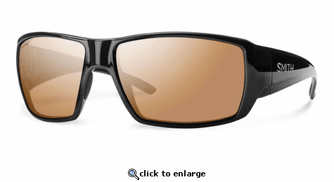 Smith Optics Lifestyle Guides Choice Sunglasses Black Techlite Glass Polarchromic Copper Mirror