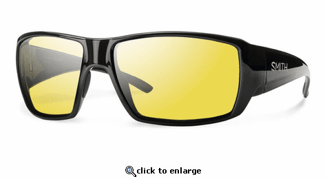 Smith Optics Lifestyle Guides Choice Sunglasses Black Techlite Glass Polarized Low Light Ignitor