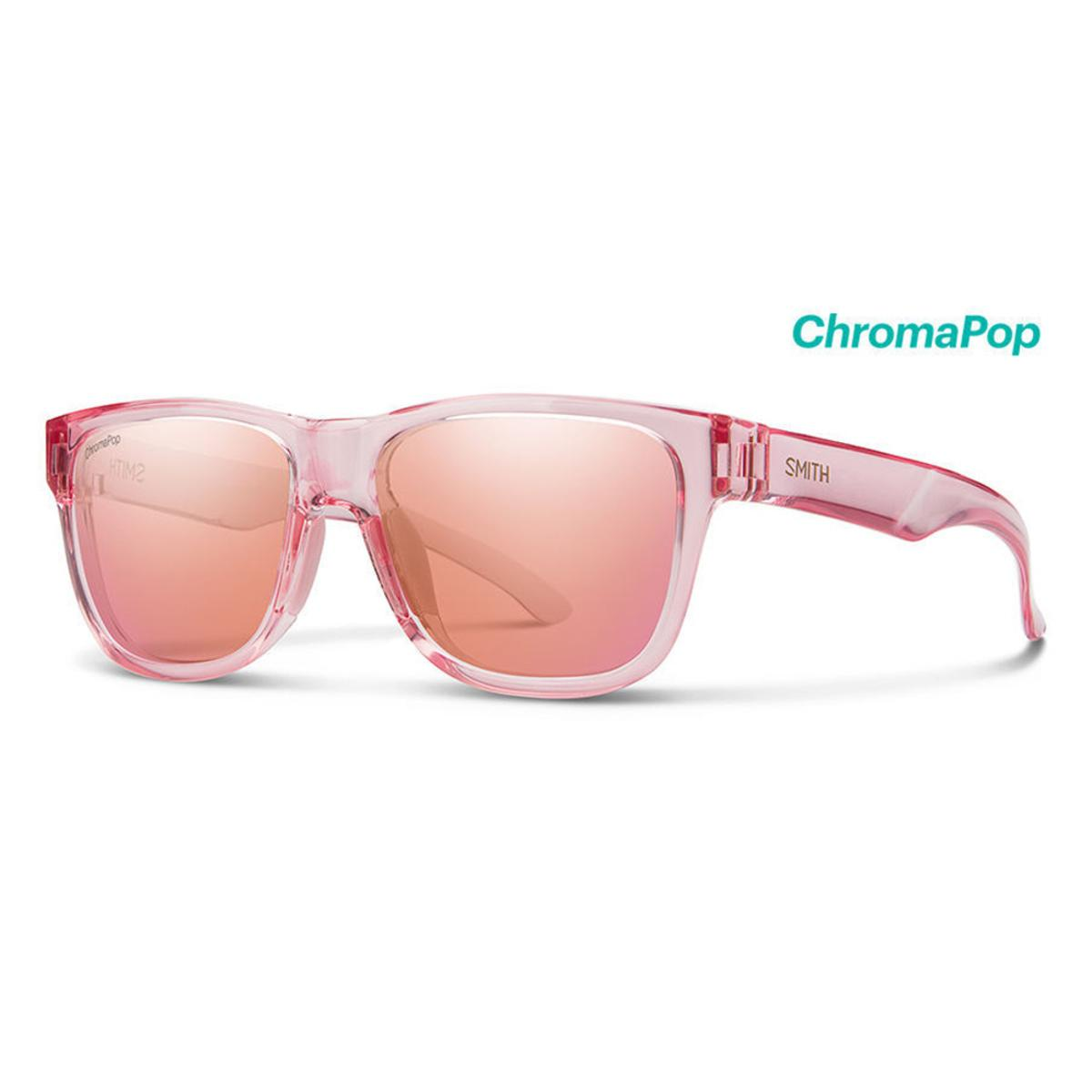 0f6d6e929d9 Smith Optics Lowdown Slim 2 Sunglasses Chromapop Contrast Rose Flash - Pink  Crystal Frame - The Warming Store