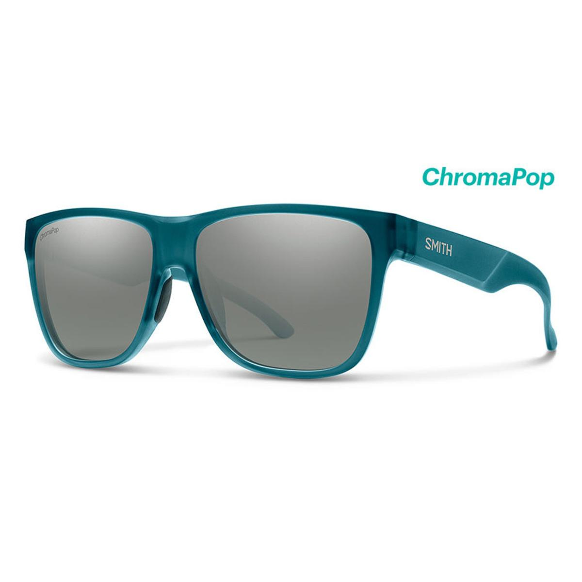 98855051fe8a Smith Optics Lowdown XL 2 Sunglasses Chromapop Polarized Platinum - Matte  Crystal Deep Forest Frame - The Warming Store