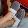 SnugToes Funmi Plush Heated Slippers for Women