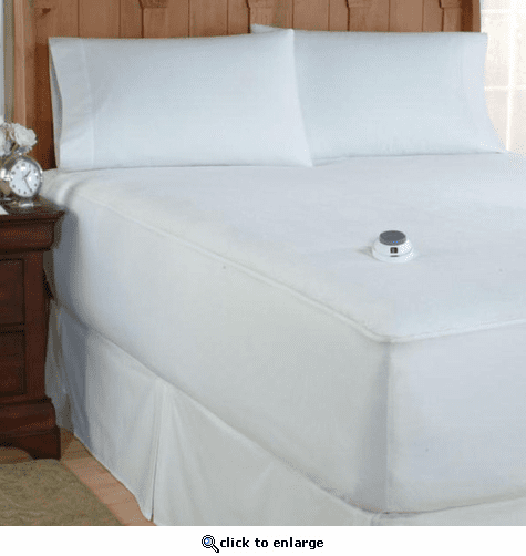 Soft Heat MicroPlush Low Voltage Heated Mattress Pad - Cal King