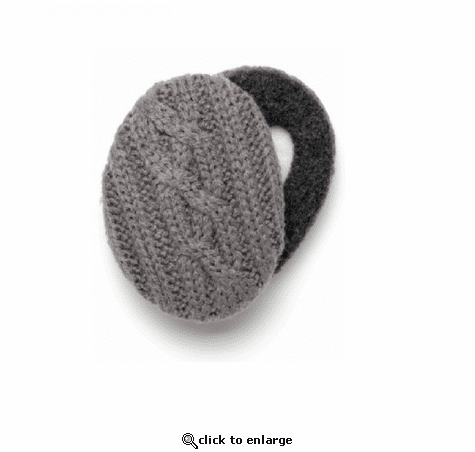 Sprigs Cable Knit Earbags
