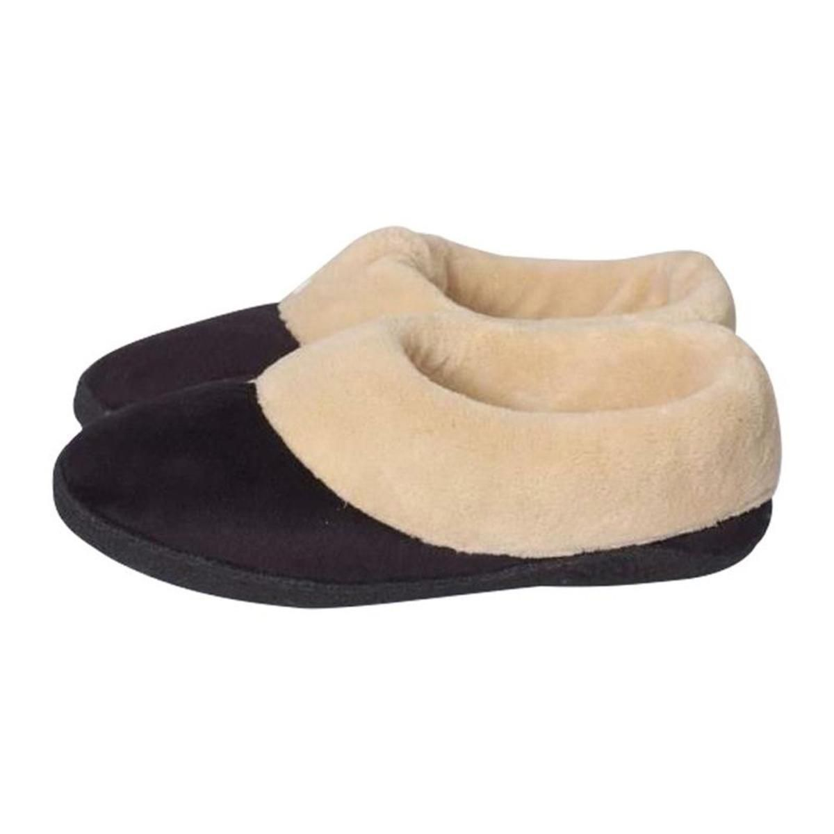 d742b596e96 Stay Warm Apparel Memory Foam Heated Slipper with Rechargeable Battery -  The Warming Store