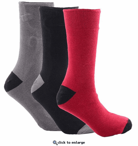 Stay Warm Apparel Rechargeable Heated Socks - 3 Pack