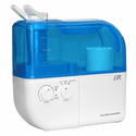 Sunpentown Dual Mist Ultrasonic Humidifier with ION Exchange Filter - Blue