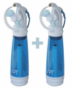 Sunpentown Personal Handheld Misting Fan - Set of 2