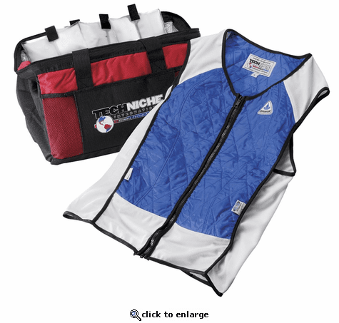 TechKewl Elite Hybrid Sport Phase Change Cooling Vest