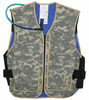TechKewl Hybrid Cooling Military Vest with Personal Hydration System