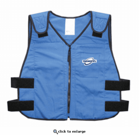 TechKewl Phase Change Flame Resistant Cooling Vest - Nomex
