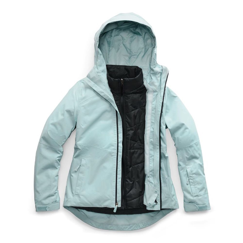07f4ef383 The North Face Women's Clementine Triclimate Jacket - Cloud Blue