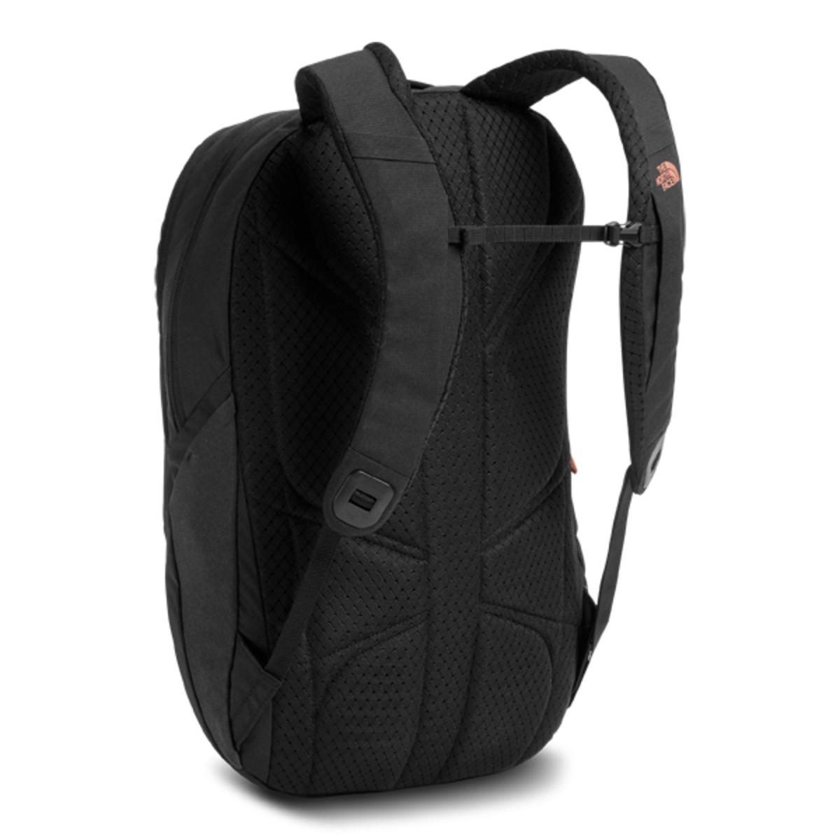 purchase cheap b2b93 6ac68 North Face Isabella Backpack Tnf Black Heather Burnt Coral Metallic