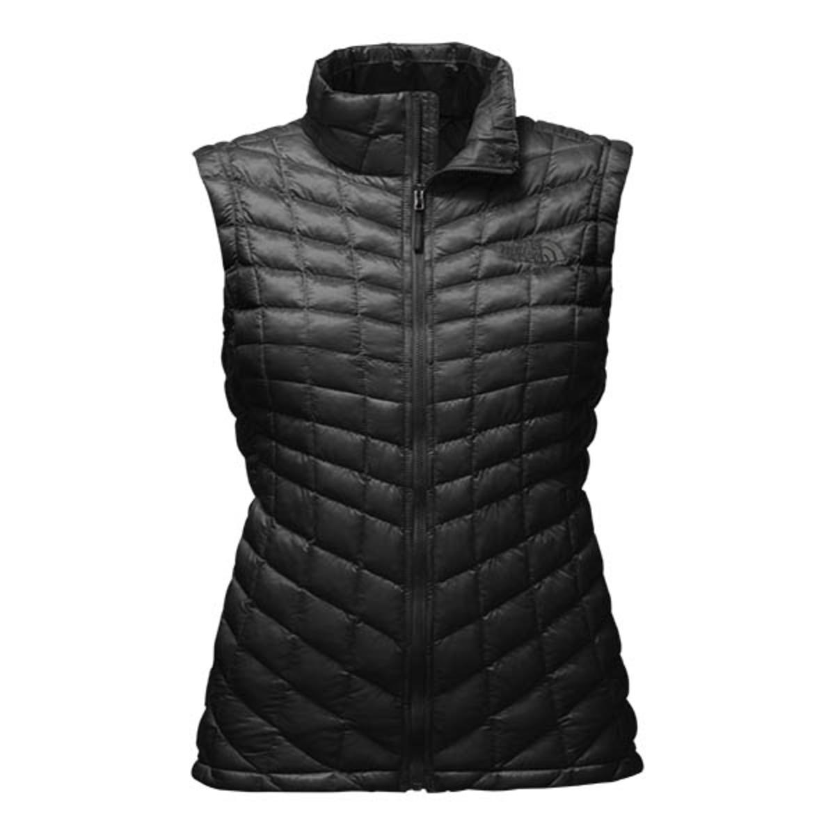 c9fcb39f8 The North Face Women's Thermoball Vest - Black - The Warming Store