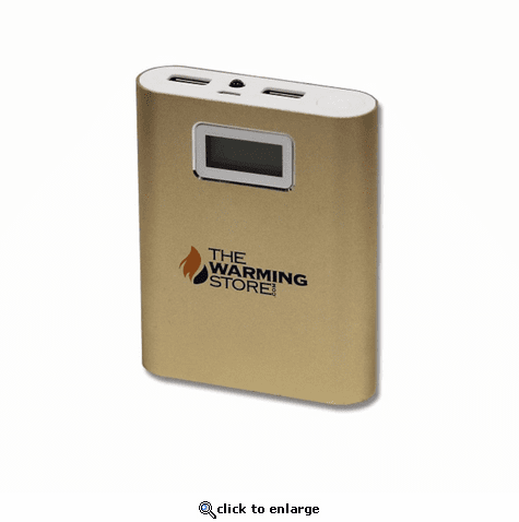 The Warming Store 5V 10,000mAh Heated Clothing Battery - Extended Life