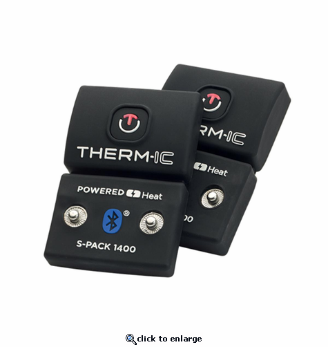 Therm-ic PowerSock S-Pack 1400 Bluetooth - 2 Pack