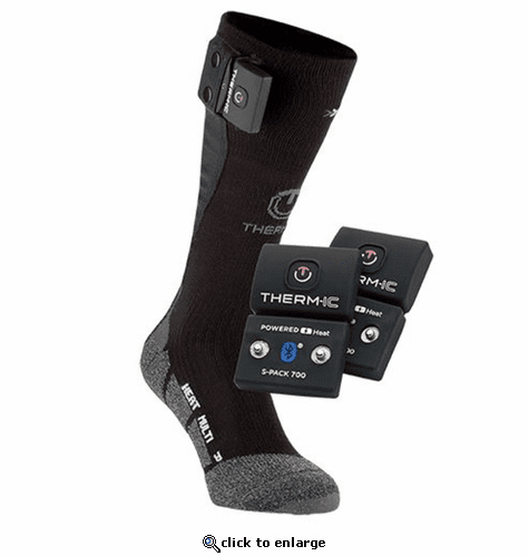 Therm-ic PowerSock S-700B Bluetooth Multi Fit Heated Socks Set