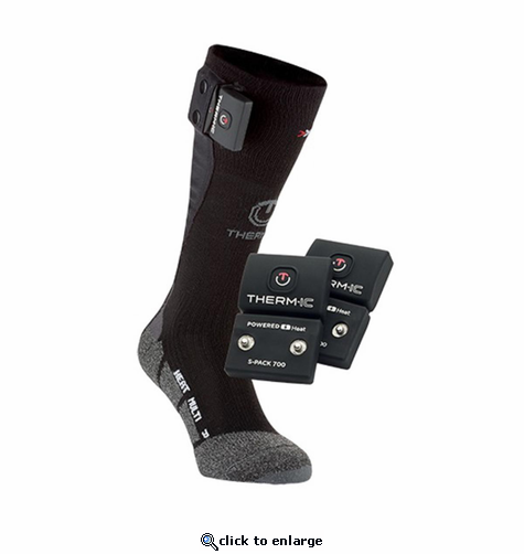 Therm-ic PowerSock S-700 Uni Fit Heated Socks Set