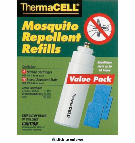Thermacell Mosquito Repellent Refill 4pc Value Pack