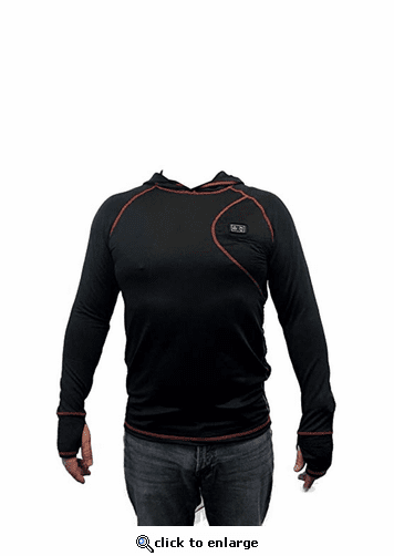 ThermoGear 5V Battery Heated Dual Zone Baselayer Shoot With Hood